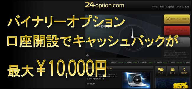 24Option.comキャンペーン