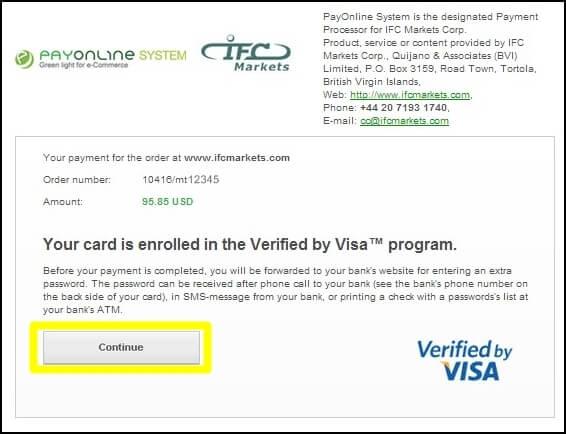 クレジットカードデビットカード記載事項確認画面